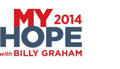 logo Watch: Billy Grahams My Hope America   The Cross