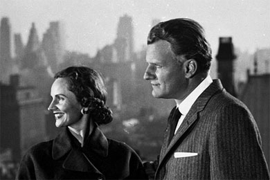 Billy and Ruth Graham went to New york City in 1957 with great anticipation for what later stretched into a 16-week crusade.