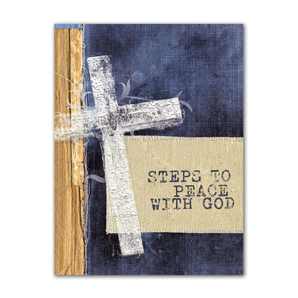 Steps to Peace With God - Pack of 25